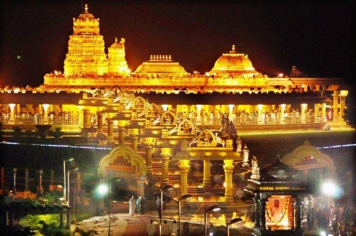 The grand Tirupati temple and Ved Pathshala to be built in Jammu and Kashmir