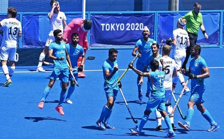 The Indian men's hockey team bagged the bronze medal at the Tokyo Olympics